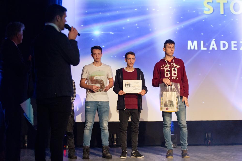 MLÁDEŽNÍCKY KOLEKTÍV ROKA 2016 -A_družstvo juniorov – Extraliga stolný tenis