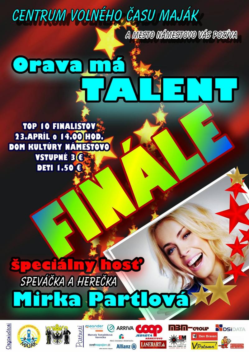 ORAVA MÁ TALENT 2017 – finále