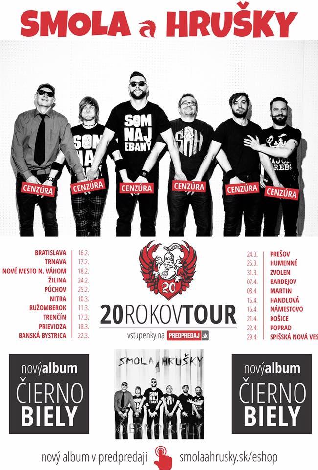 SMOLA A HRUŠKY – 20 ROKOV TOUR @ Barón pub