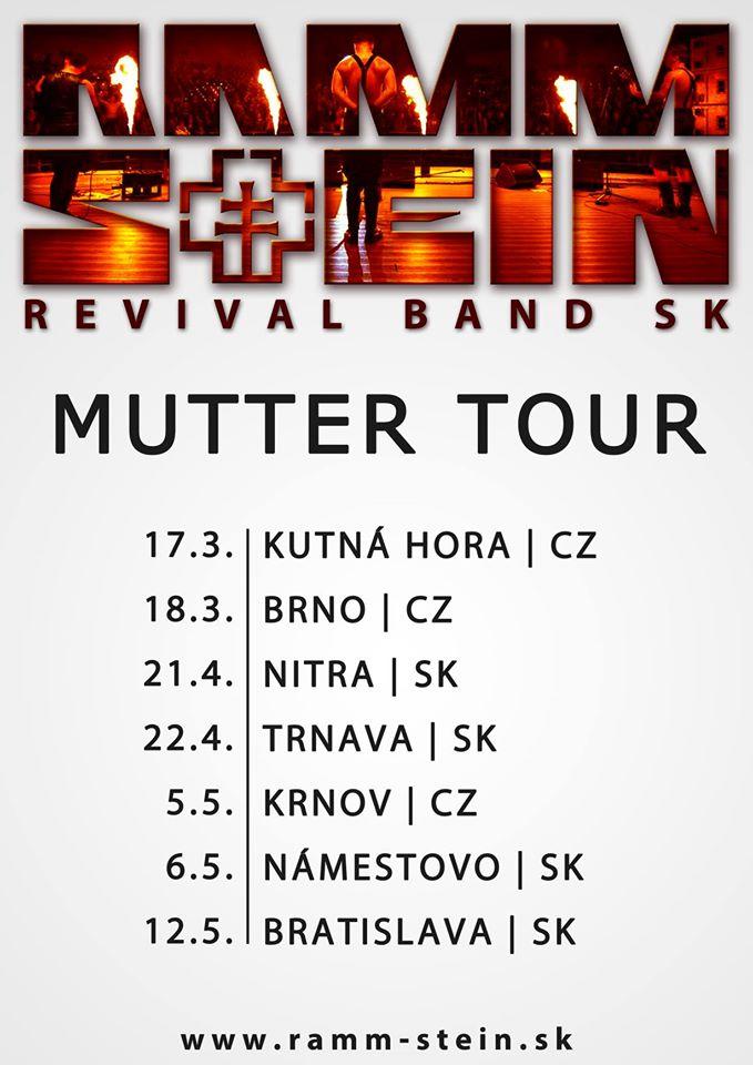 Rammstein revival band SK @ Barón pub