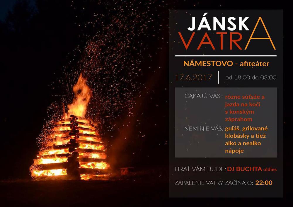 Pálenie Jánskej vatry na nábreží @ Nábrežie Or. priehrady