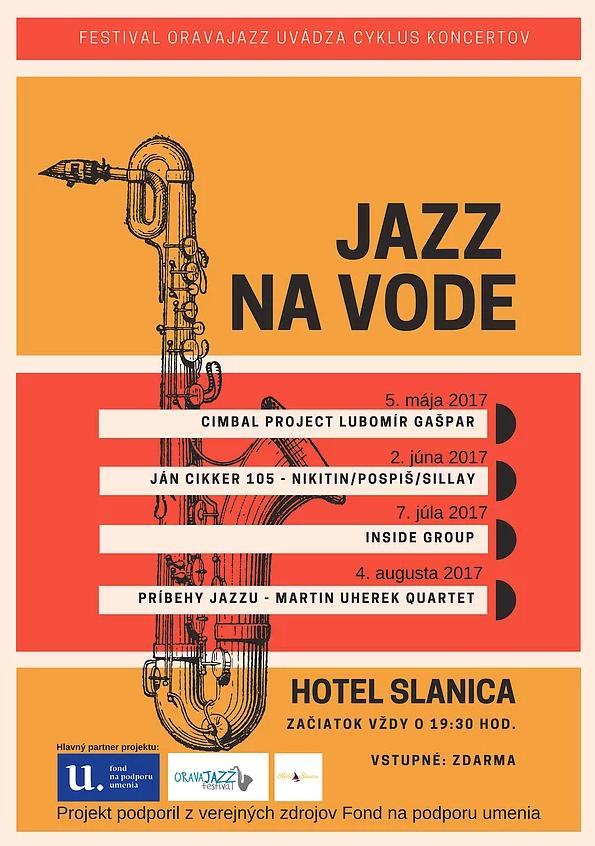 Jazz na vode – Ján Cikker 105 – Nikitin/Pospiš/Sillay @ Hotel Slanica