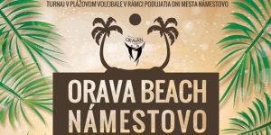 ORAVA BEACH Námestovo @ Plážové ihrisko na nábreží