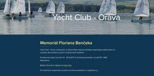 Preteky v jachtingu – Memoriál Floriána Benčeka