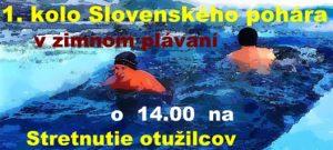 1. Kolo slovenského pohára v zimnom plávaní @ Nábrežie Or. priehrady