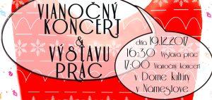 Vianočný koncert ZUŠ I. Kolčáka @ Dom kultúry v Námestove