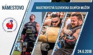 Majstrovstvá Slovenska silných mužov @ Nábrežie Or. priehrady