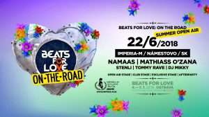 Summer Open Air, Beats For Love: On the Road 22.6.2018