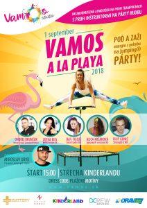 VAMOS A LA PLAYA Jumping® párty @ Vamos Studio Námestovo