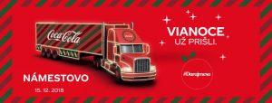 Coca-Cola vianočný kamión v Námestove @ Hviezdoslavovo námestie