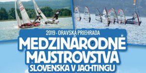 Medzinárodné majstrovstvá Slovenska v jachtingu @ Oravská priehrada