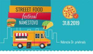 Street FOOD Festival Námestovo @ Nábrežie Or. priehrady