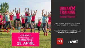 Kari Traa Urban Training @ Predajňa D-ŠPORT