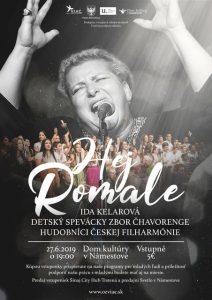 Benefičný koncert HEJ ROMALE @ Dom kultúry v Námestove
