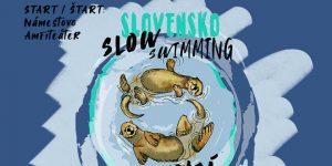 Pomalé plávanie - Slow swimming @ Nábrežie Or. priehrady
