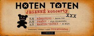 HOTEN TOTEN - Námestovo (Barón pub) @ Nábrežie 1163, 029 01 Námestovo, Slovensko