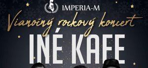 Vianočný Rockový koncert INÉ KAFE @ Imperia - m