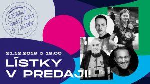 Piata #naoravedobre talkshow Jakuba Ptačina a priateľov @ Dom kultúry v Námestove