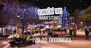Vianočné trhy v Námestove @ Hviezdoslavovo námestie