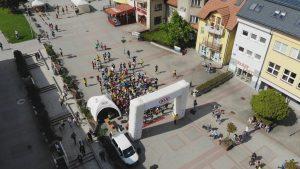 Beh ulicami mesta Námestovo @ Hviezdoslavovo námestie