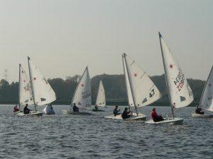 Interpohár - preteky plachetníc v okruhovom jachtingu @ Nábrežie Or. priehrady